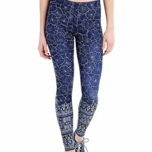 Lolë 'Sierra' dark spectrum floral bliss leggings