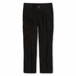 Izod Boys Twill Flat Front Pants