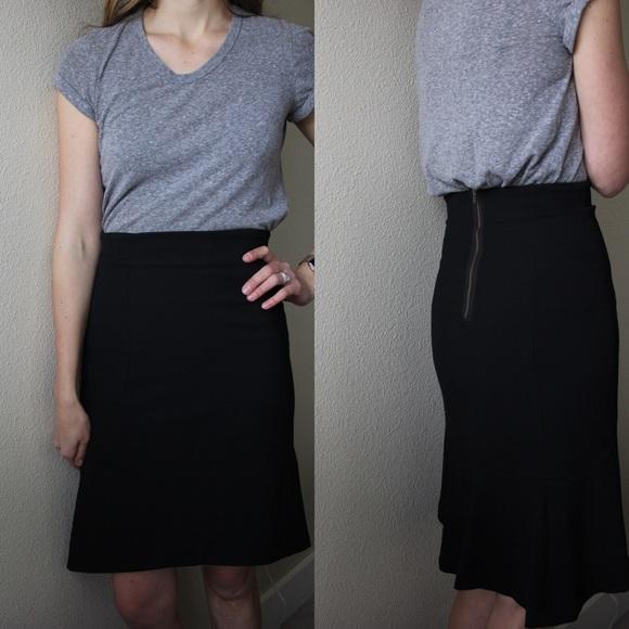 Anthropologie Dresses & Skirts - SOLD Tracy Reese NY Black Skirt