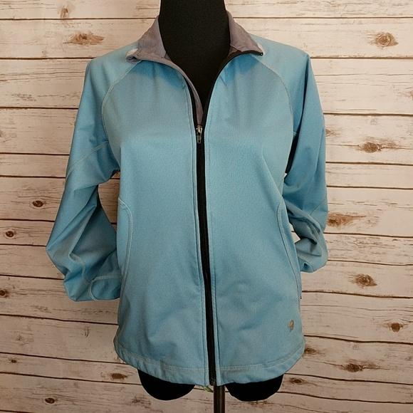 Mountain Hardwear Jackets & Blazers - Mountain Hardware Blue Zip Up Jacket