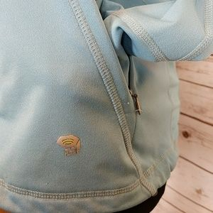 Mountain Hardwear Jackets & Coats - Mountain Hardware Blue Zip Up Jacket