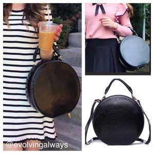 🆕 Classic Hat Box Shaped  Handbag