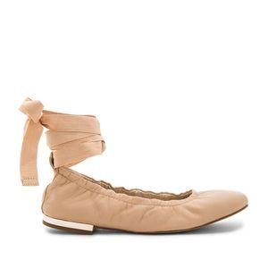 SAM EDELMAN Fallon Wraparound Ballet Flats Sz 6