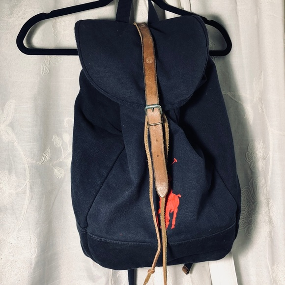 9e4af2703 Polo by Ralph Lauren Bags | Polo Ralph Lauren Canvas Rucksack ...
