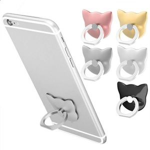 classic fit 05e3b a2786 Cat shaped phone ring holder mount smartphones