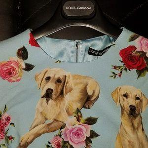 e6a48e05 Dolce & Gabbana Dresses | Printed Cady Dress | Poshmark