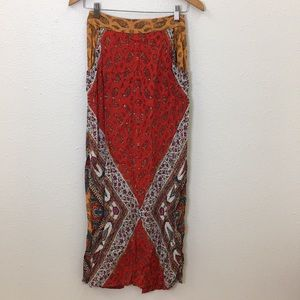 Urban Outfitters Boho Maxi Skirt