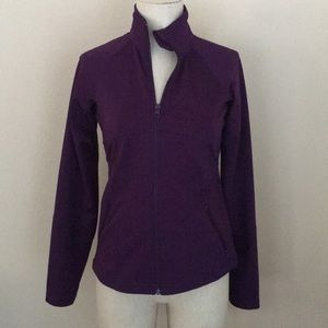 Aviva Purple Athletic Jacket