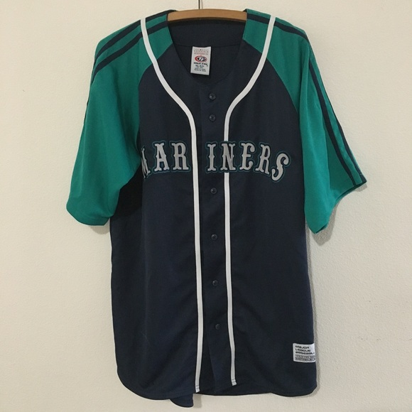 12bfb522 True Fan Shirts | Mlb Seattle Mariners Vintage 90s Jersey Mens Xl ...