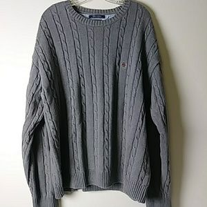 Vintage Tommy Hilfiger cable knit sweater