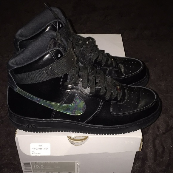 online retailer 41071 5ec52 italy nike air force 1 high hologram 4fc69 68318