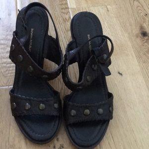 Banana republic stud sandal size 8