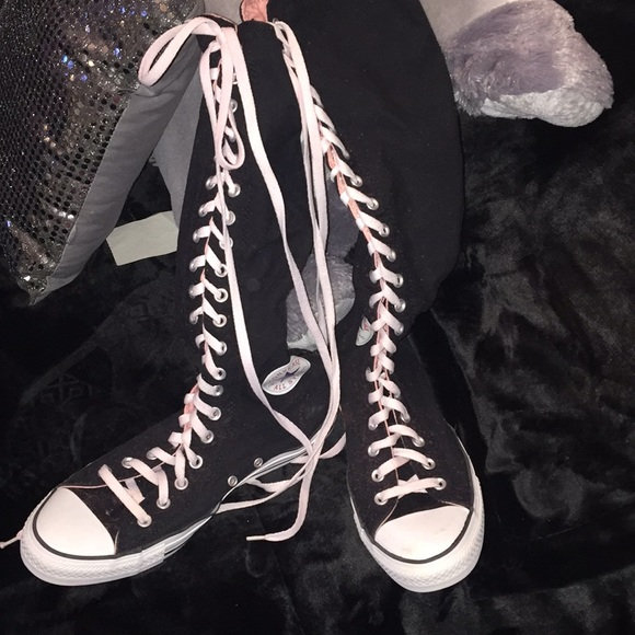 5f8451b0f17f Converse Shoes - Tall thigh high converse