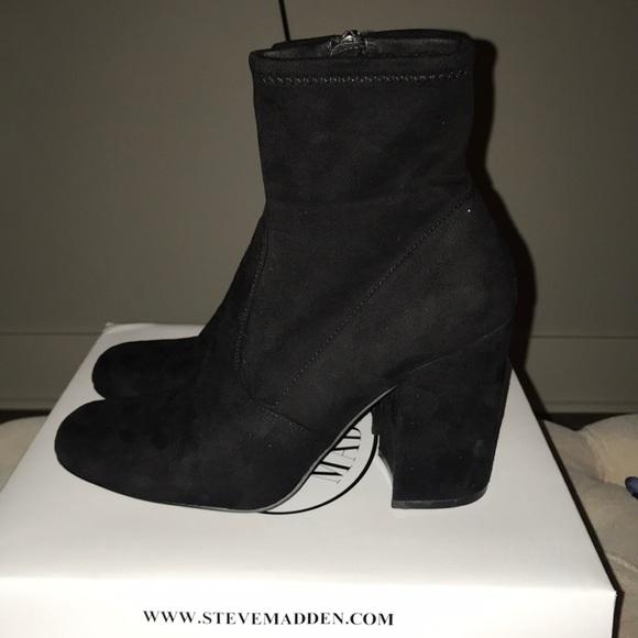 82668c8acf0 Steve Madden Gaze Sock Booties