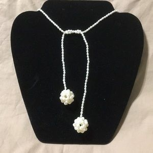 Jewelry - ⭐️⭐️ New Faux Pearl Lariat Necklace