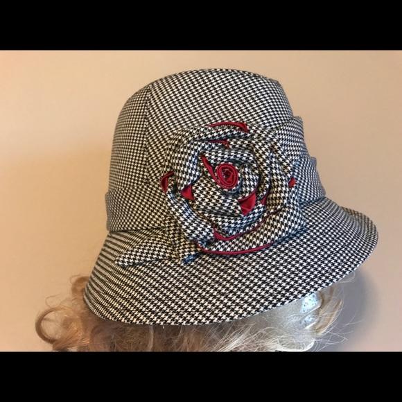 2012dcbe0c8 Women s black   white fedora hat. San Diego Hat Co