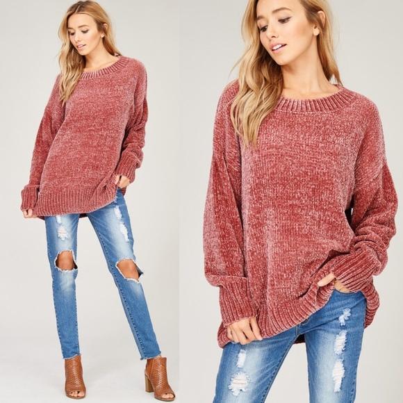 b80b1ec36 Bellanblue Sweaters | Kelsey Buttery Soft Sweater Rose | Poshmark