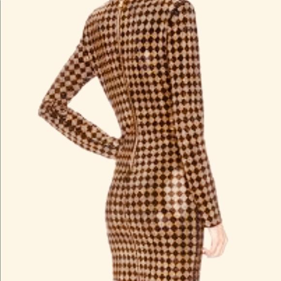 Balmain Dresses & Skirts - Balmain Dress Gold Sequined sz42