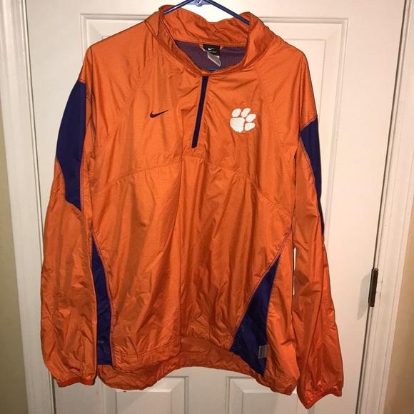 Nike Clemson Storm Fit Rain Jacket