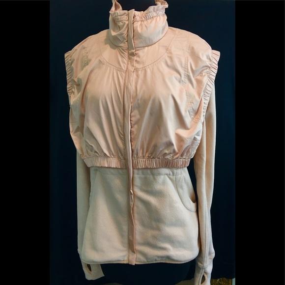 90d6aa32db717 Adidas by Stella McCartney Jackets & Blazers - Adidas by Stella McCartney  Blush Full Zip Jacket