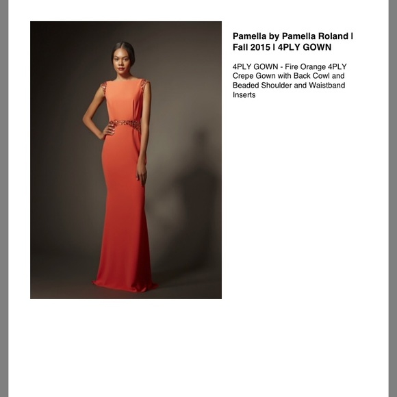 Pamella Roland Dresses & Skirts - Pamela Roland Evening Gown