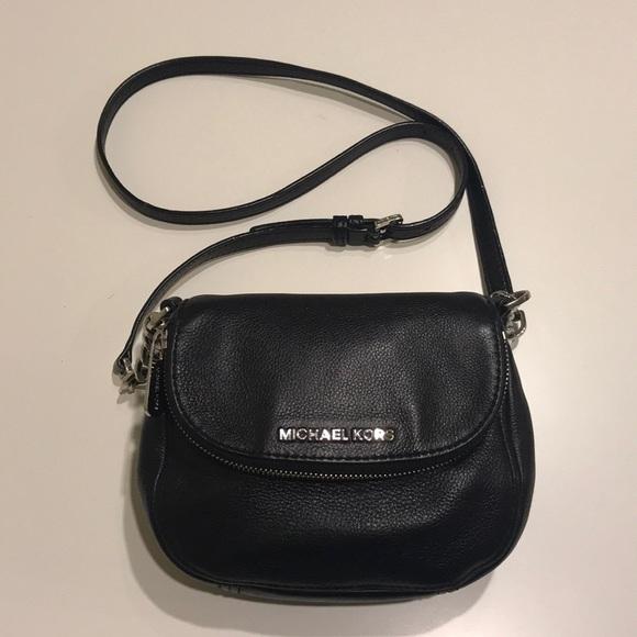 b7a66daa56f70d Michael Kors Bedford Flap Crossbody Bag Small. M_5a1f5c374e8d17ca92009f85.  Other Bags you may like. Michael Kors Black Pebble Real Leather Handbag