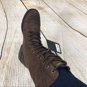 NWT Combat Boots