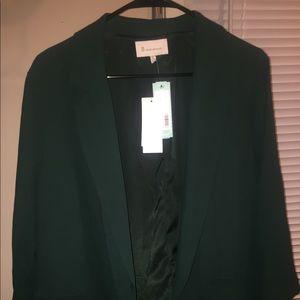Bnwt Hunter green blazer