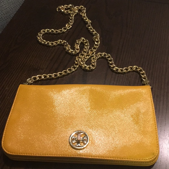 0313aacdd2 Tory Burch Bags | Mustard Yellow Cross Body Purse | Poshmark