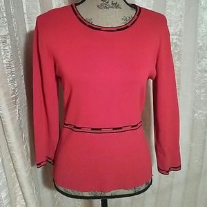 Ziani Couture Women's Red Sweater