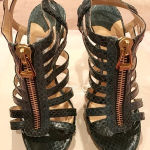 9d0b91113463 Jimmy Choo Shoes - Jimmy Choo Glenys elaphe snake green