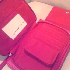 Etienne Aigner Red Crossbody Purse