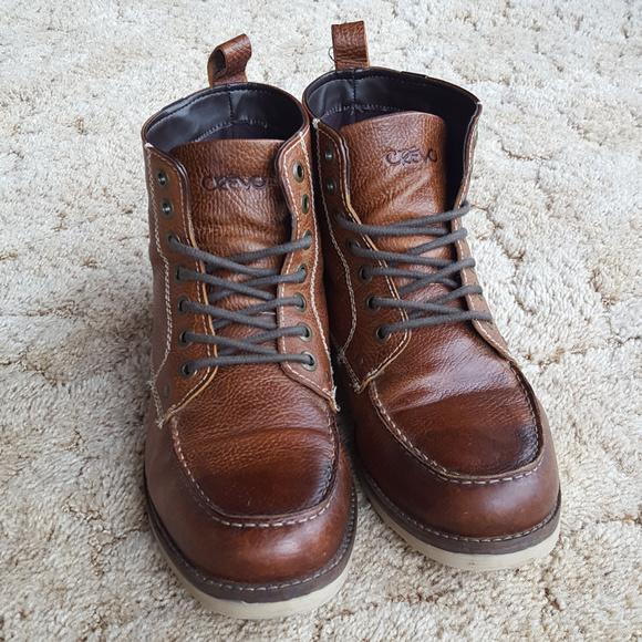 85f76c4ffcb Crevo Buck Caramel Leather Boot