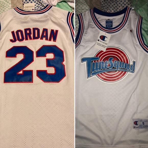 new concept eccf3 4d62f 🔥Champion MJ Toon Squad Game Jersey,L & XL, NWT🔥 Boutique