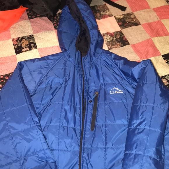 LL Bean Men's Primaloft Packaway Jacket