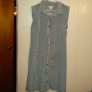 Sz lg shirt dress by Old Navy