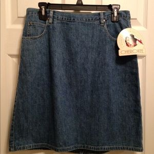 Cherokee Ladies Denim Skirt