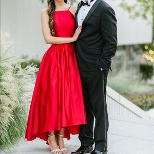 Bloomingdales Red Formal Gown by Avery G