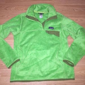 PATAGONIA t-snap fleece pullover jacket small