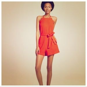 Victoria Beckham orange jumper size Medium
