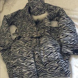 Girls ROXY Ski Suit Snowsuits Jacket Pants  Sz L