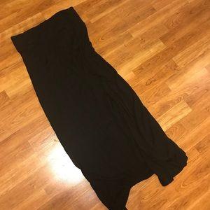 Gap Body Black Maxi Skirt