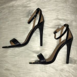 Nasty Gal Shoe Cult ankle strap heels
