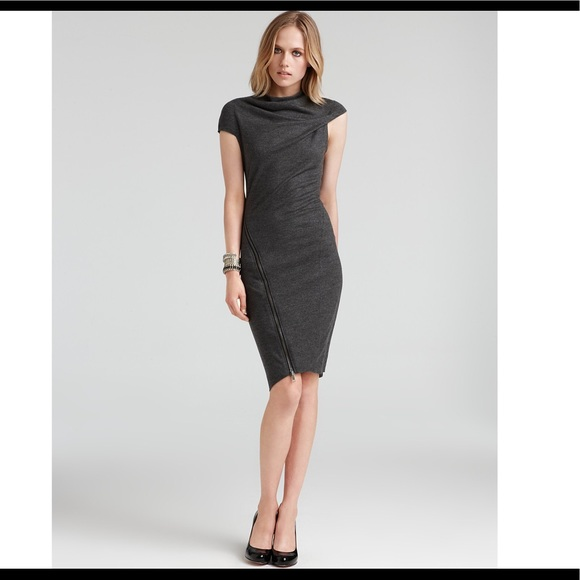 Helmut lang zipper dress