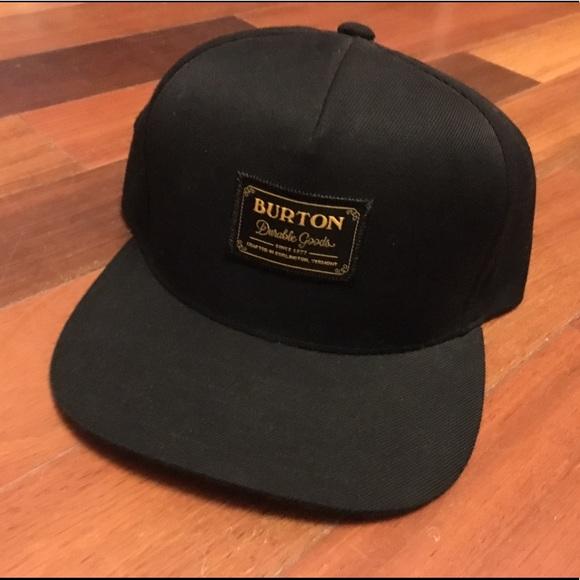 667042d953c7 Burton Other - Men s Burton Snowboards Snapback Hudson Hat Black