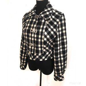 Vintage 50's wool bomber jacket
