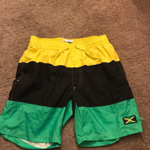1089a0399c Jamaica color men swim shorts- small. M_5a1f7e474127d08f5a0163e0