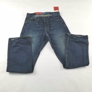 Jeans 29X30 Vintage Blue Men's Boot Cut Faded