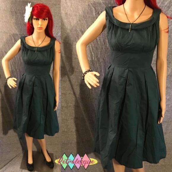 460db06e94d Forest Green Swing Dress- NWT