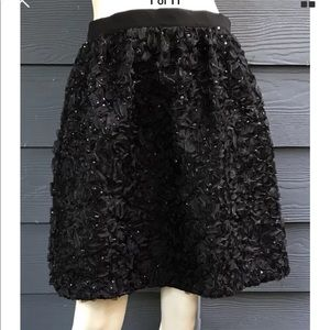 French Connection Women Skirt Sequin Lined Size 6